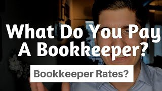 Hiring vs Outsourced Bookkeeping - What Is The Pay Rate For A Bookkeeper?