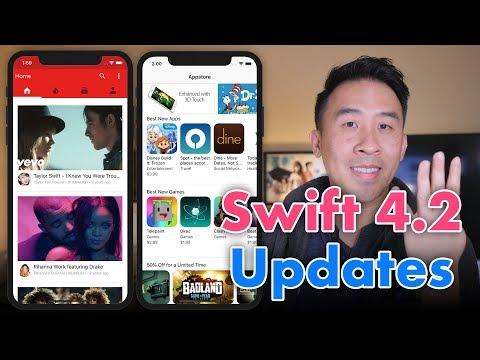 Swift 4.2 Xcode 10 Project Source Code Updates