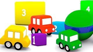 4 машинки все серии подряд. Мультфильмы для детей