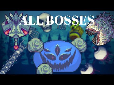 Terraria: Etherial Dimension All Bosses (Enigma Mod)