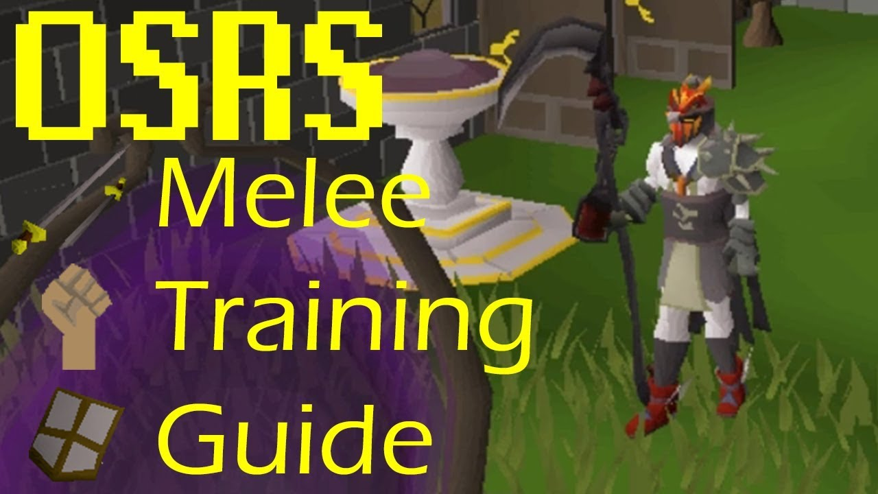 OSRS - Efficient Melee Training and Gear Progression Guide