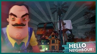 NOVÝ OBROVSKÝ DŮM!! + KONEC   Hello Neighbor #3