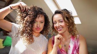 Jak ogarnąć włosy kręcone? - Czarszka -
