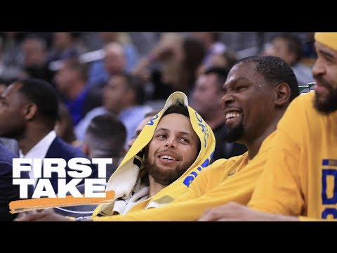 Does NBA Finals Rest On Kevin Durant Or Steph Curry's Shoulders? | First Take | May 25, 2017