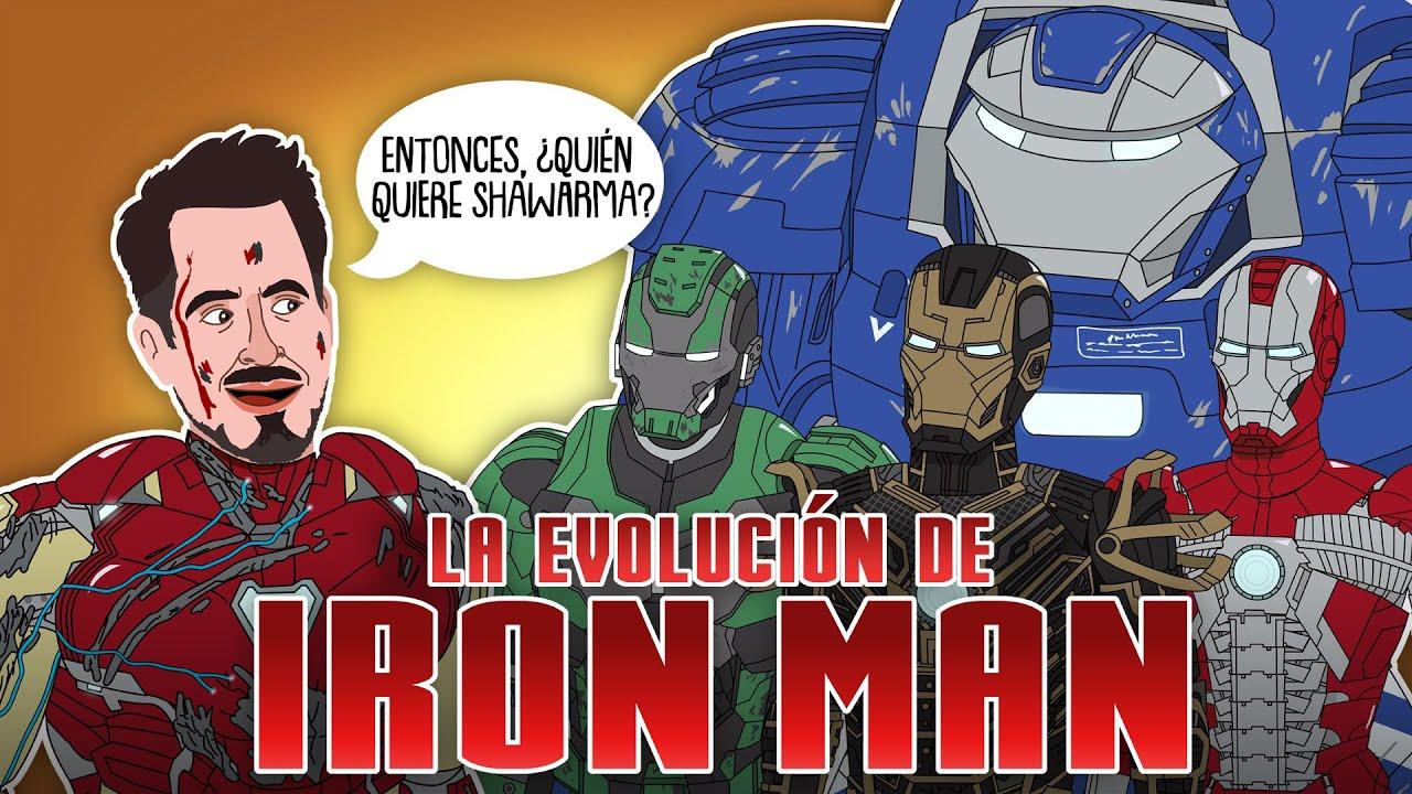 La Evolución de Iron Man -Tony Stark (Animada)