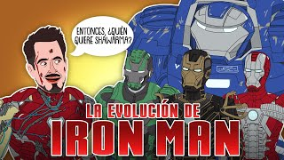 La Evolución de Iron Man -Tony Stark (Animada)