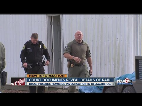 Court Documents Reveal Details Of Delaware County Raid