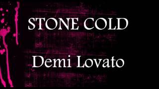 Stone Cold - Demi Lovato    Lower Key Karaoke (-5) Resimi