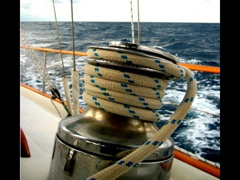Self-Tailing Sailing Winch Safety Tips