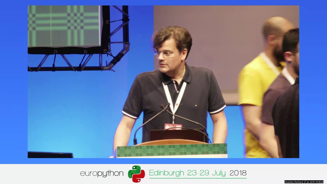 Image from EuroPython 2018 - Closing