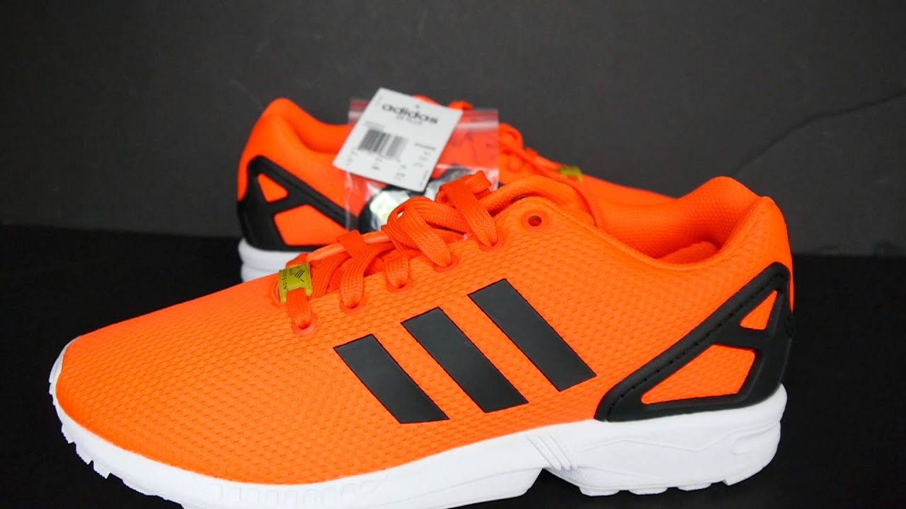 Adidas Zx Flux Orange arrivee-d-air-sims.