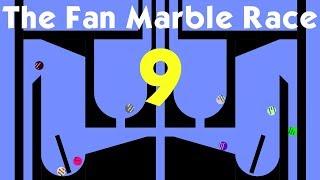 The Fan Marble Race Part 9 (Algodoo)