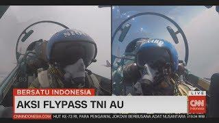 Download Video Spektakuler! Kerennya Aksi Flypass TNI AU di HUT RI Ke-73 #17an, #Dirgahayu73 MP3 3GP MP4