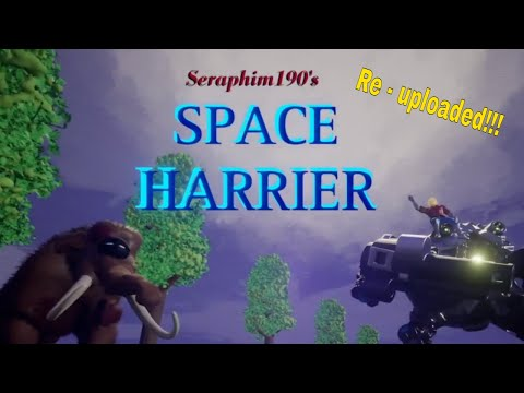 Space Harrier – 2019 Remake in Dreams ps4