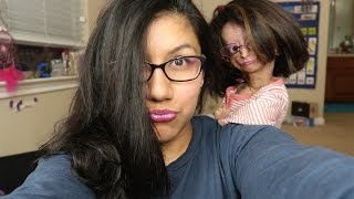 Makeup tutorial on my mom!! thumbnail
