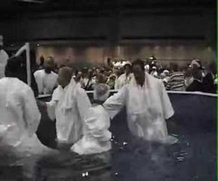 Baptism at the 2006 National Baptist Convention