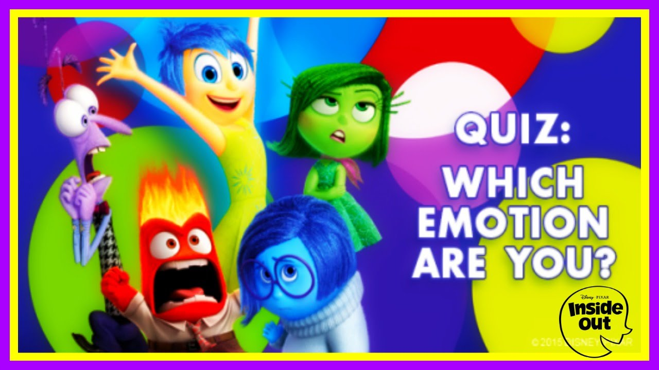 Which Inside Out Character are You? - Disney Quiz For Kids ... Cutezee