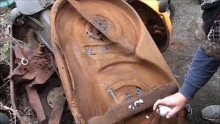 RESTORING Rebuilding Repairing an MTD Riding Lawnmower 42