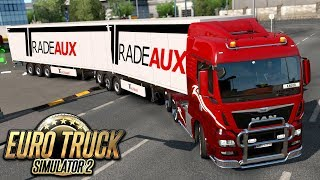 Podwójna naczepa - Euro Truck Simulator 2 | (#37)