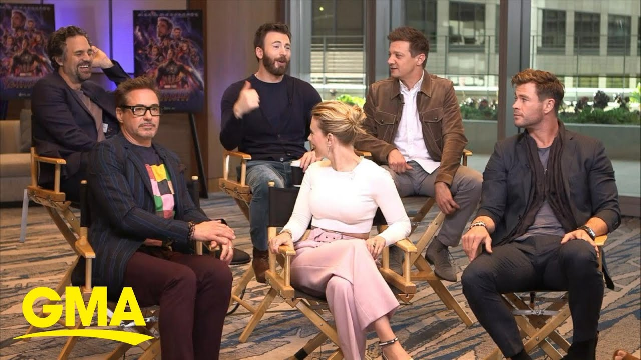 Cast Of Avengers Endgame Dish On The Making Of The Film L Gma