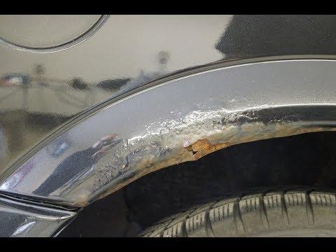 """Autolackreparatur-Anleitung - Teil 1 """"Reparatur von Löchern und tiefen Schäden in Metallteilen"""""""