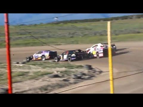 Wild Bill's Raceway IMCA Stock Car Heat Races 6/8/19