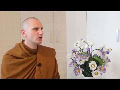 """Akaliko Bhikkhu """"dealing with difficult people"""" part 1"""