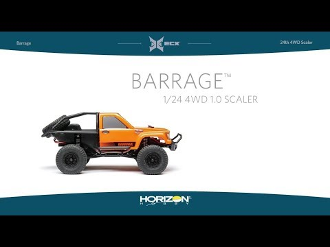 ECX 1/24 RTR 4wd Barrage Scaler