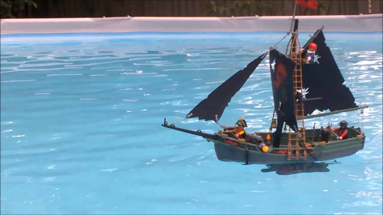 Playmobil Rc Pirate Schooner Youtube