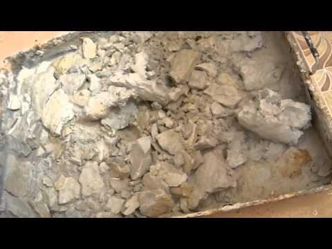 Как подготовить сухую глину к работе
