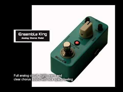 mooer ensemble king chorus micro pedal youtube. Black Bedroom Furniture Sets. Home Design Ideas