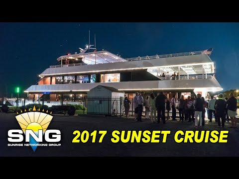 2017 SNG Sunset Dinner Cruise on Ovation Yacht | Sunrise Networking Group