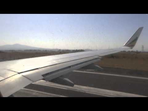 Take Off from Addis Ababa am 29.10.2013 mit Ethiopian Airlines
