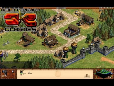 The Battle of Falkirk - M7 Scottish Campaign Walkthrough - Age Of Empires II HD Kings