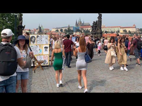 Prague Czech Republic  2019🇨🇿 walking the streets