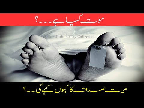 Mout Kyaa Hai..? | Adeel Hassan | Heart Touching Video |