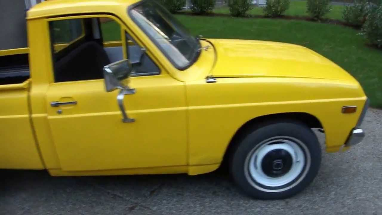 ford courier pick  budget restoration youtube