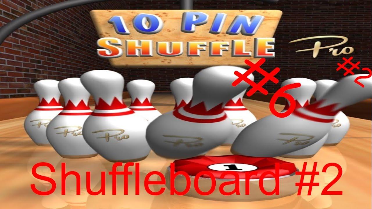 Joexian Gaming: 10 Pin Shuffle #6: Pro Version #2: Shuffleboard #2: Mr. Idiot!