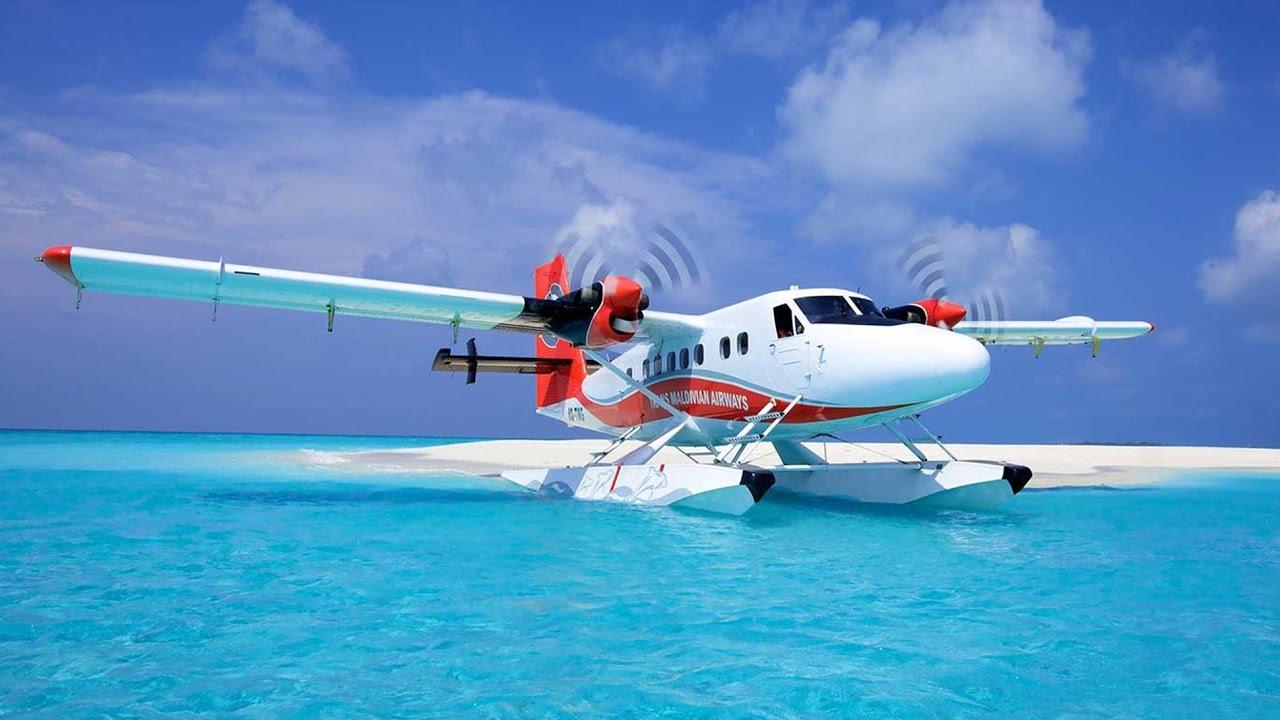 Most Beautiful Flight In The World Maldives Seaplane