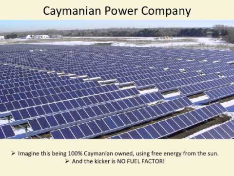 Energy in the Cayman Islands