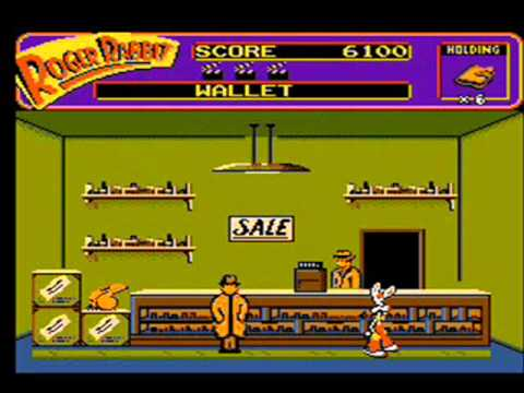lets play who framed roger rabbit nes part 1 - Who Framed Roger Rabbit Nes