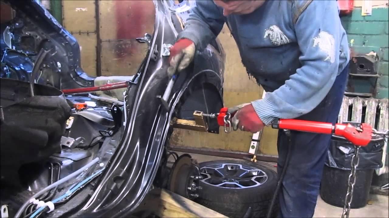 Subaru. Body repair. Part1. Ремонт кузова, часть 1.