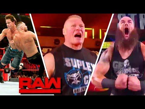 WWE Monday Night Raw 8 January 2018 Highlights HD - WWE Raw Highlights 1/08/2019 HD thumbnail