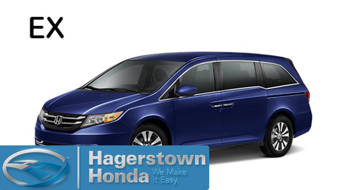 2016 honda odyssey ex colors hagerstown honda youtube