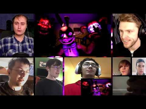 DRAWN TO THE BITTER | FNAF (COLLAB) [REACTION MASH-UP]#527