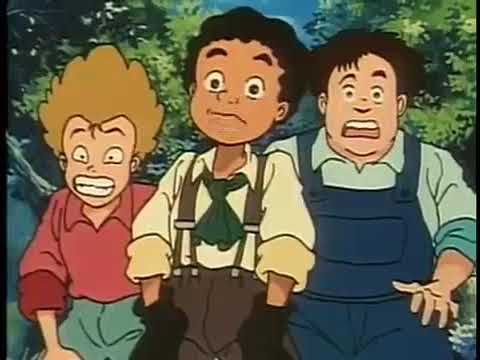 Old Cartoon || Huck and Tom's Mississippi Adventure Full Movie