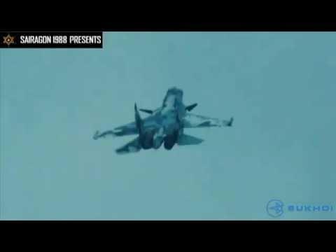 Siêu máy bay làm xiếc để tránh tên lửa tầm nhiệt
