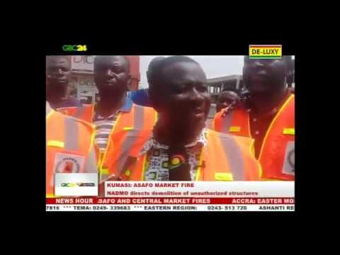 Kumasi Asafo Market razed by fire again