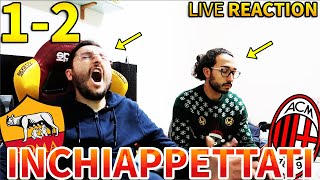 lNCHlAPPETTATl. ROMA-MILAN 1-2 [LIVE REACTION]