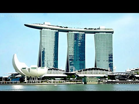 Marina Bay Sands Hotel in Singapore.